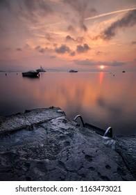 sunrise to théoule surmer