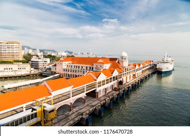 Sunrise at Swettenham Pier Cruise Terminal, Penang Island, Malaysia