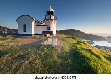 Sunrise at the Tacking Point Lighthouse at Port Macquarie, NSW, Australia
