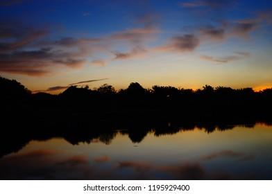 Sunrise at Tadom Hill Resorts, Banting, Selangor, Malaysia