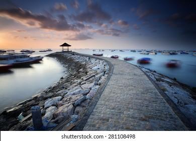 Sunrise at Tanjung Benoa Nusa Dua, Bali - Indonesia