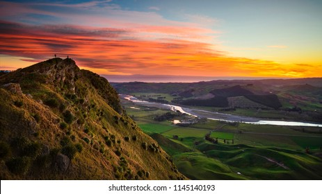 Sunrise at Te Mata Peak