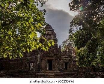 Sunrise at the Temples. Angkor Wat. Siem Reap. Cambodia.