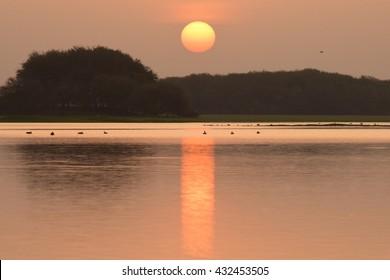 Sunrise at Thol Lake