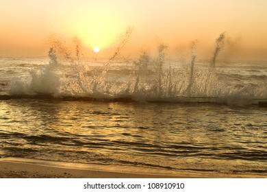 Sunrise at Tidal Pool Mossel Bay