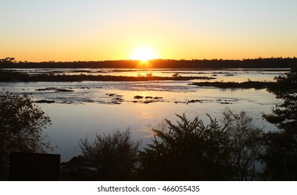 Sunrise in Tocantins River