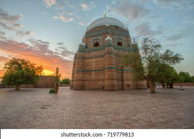 Sunrise at Tomb of Shah Rukn-e-Alam Multan