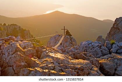 Sunrise from the top of Mount Ai-Petri. Crimea, June 2018