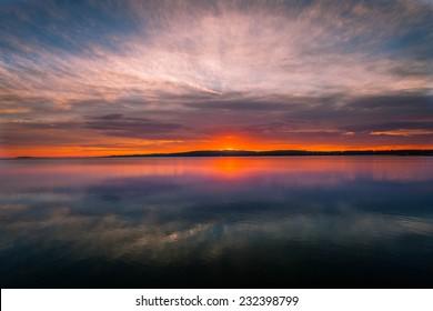 Sunrise Traverse City Michigan