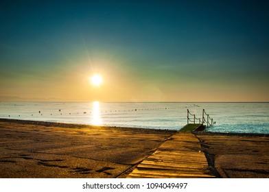 Sunrise Turkey Kemer Beach