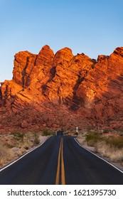 Sunrise in the Valley of Fire
