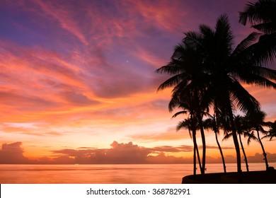 sunrise view - Huahin Thailand
