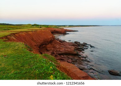 Sunrise view in the Oceanview Lookoff, Cavendish, Prince Edward Island, Canada