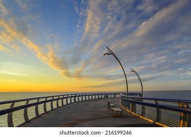 sunrise viewing deck