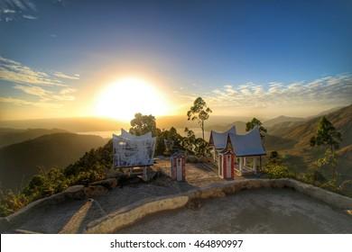 Sunrise At Village