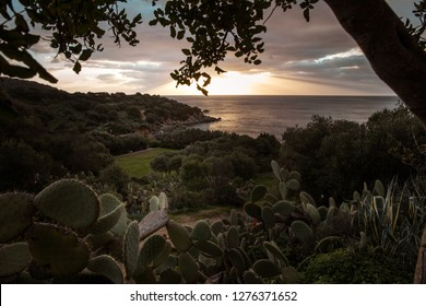 Sunrise at Villasimius, Sardinia, Italy