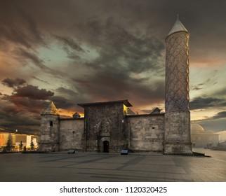 Sunrise at Yakutiye Madrasah - Erzurum -Turkey