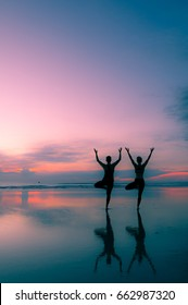 Sunrise Yoga Photo