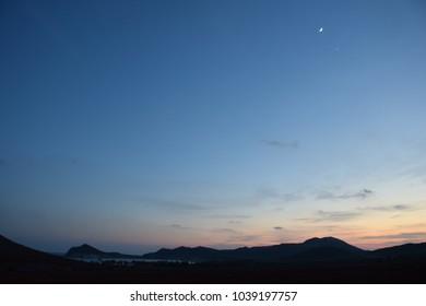 Sunset at Almería