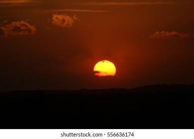 sunset - Shutterstock ID 556636174