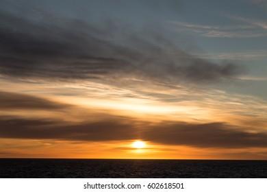 Sunset - Shutterstock ID 602618501