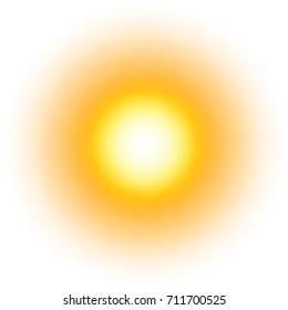 Imágenes, fotos de stock y vectores sobre Bright Sun Light