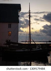 Sunset in Aalesund