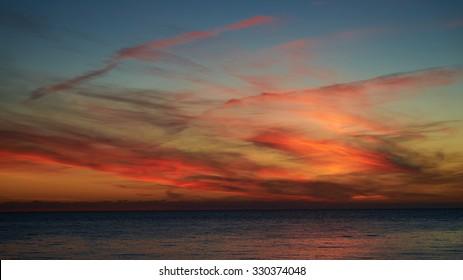 Sunset Abkhazia