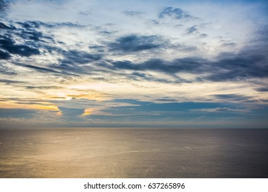 sunset above andaman sea, Phuket Thailand