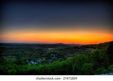 Sunset in Alabama