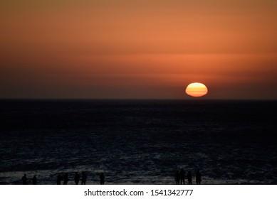 Sunset in Arraial do Cabo, Rio de Janeiro, Brazil.