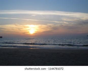 Sunset Ashdod Beach