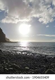 Sonnenuntergang am Atlantischen Ozean