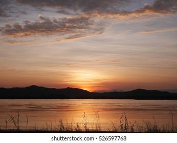 Sunset in Bagan,BURMA