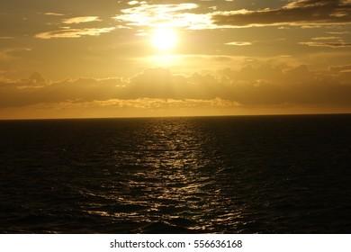 sunset baltic sea - Shutterstock ID 556636168