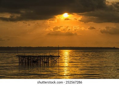 Sunset in Bangkalan, Madura Island