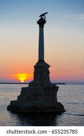 Sunset in the Bay of Sevastopol
