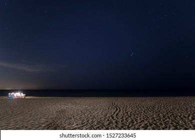 Sunset Beach in Denia Alicante Spanien