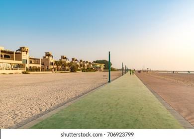 Sunset Beach in Dubai, United Arab Emirates.
