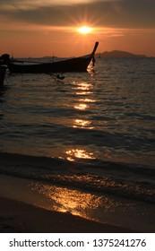 Sunset at Sunset Beach, Koh Lipe, Thailand