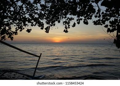 Sunset beach Lovina
