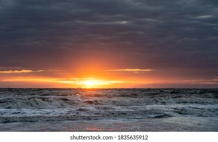Sunset at the beach of Norderney - Shutterstock ID 1835635912