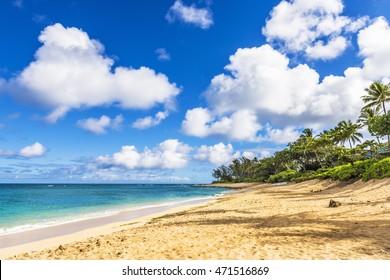 Sunset Beach, North Shore of Oahu Island, Hawaii, USA