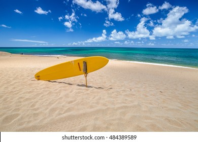 Sunset Beach, North Shore, Oahu, Hawaii. Sunset Beach is home to the prestigious Vans Triple Crown of Surfing in the World Cup of Surfing with two other surf spots: Banzai Pipeline and Waimea Bay.