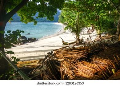 Sunset beach paradise in Koh Lipe, Thailand