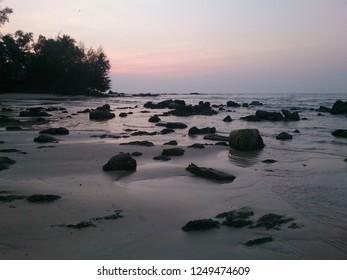 Sunset Beach, Trat, Thailand
