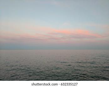 sunset the beaches toronto