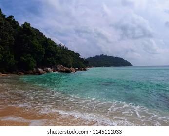 Sunset beach,Koh lipe Thailand