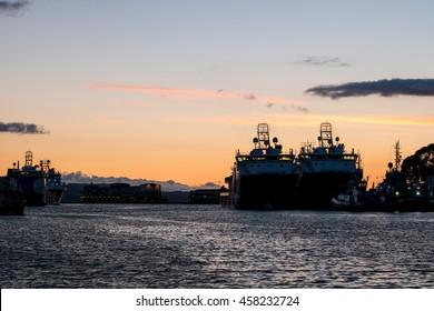 Sunset at Bergen