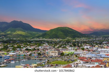 Sunset Beyond St Kitts